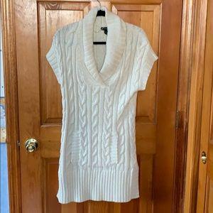 International concepts white sweater dress